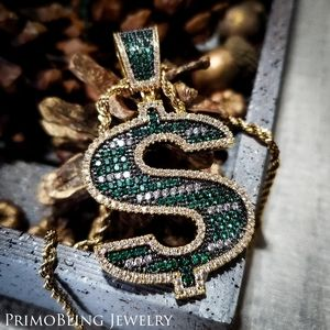 Green Money Necklace